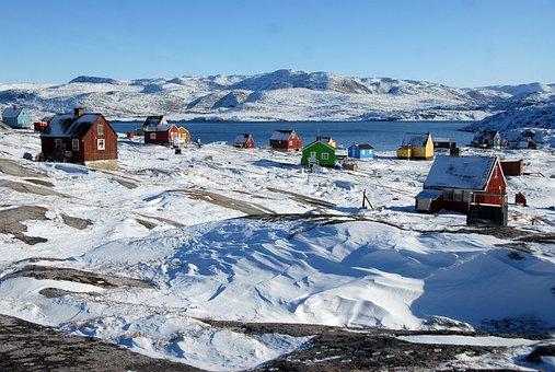 Greenland, Rodebay, Oqaatsut, Ice