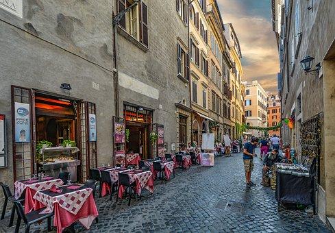 Rome, Roma, Italy, Cafe, Italian, Restaurant, Old