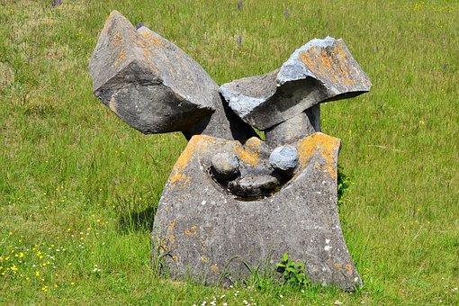 Eichstätt, Monument, Violence In War, Abstract