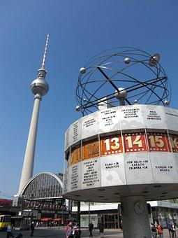 Berlin, Tv Tower, Architecture, Germany, Landmark