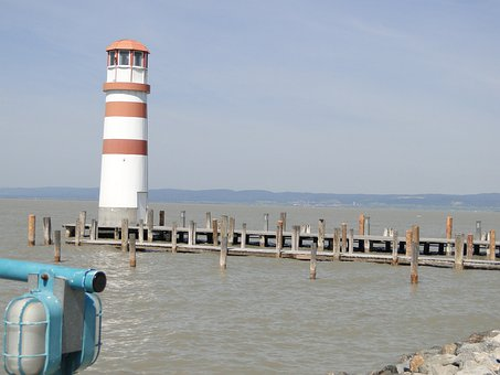 Lake Neusiedl, Austria, Lighthouse