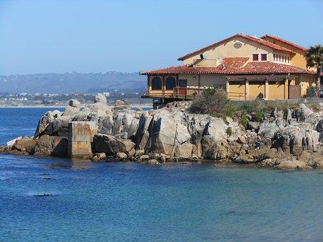 House, Hotel, Lodge, Beach, California, Santa Monica
