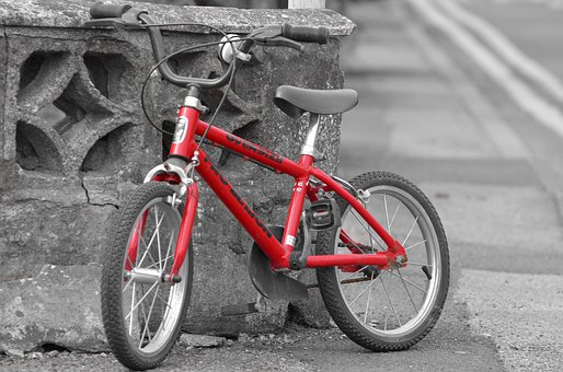 Training, Bike, Toy, Biking, Red, Model, Pedal, Fun