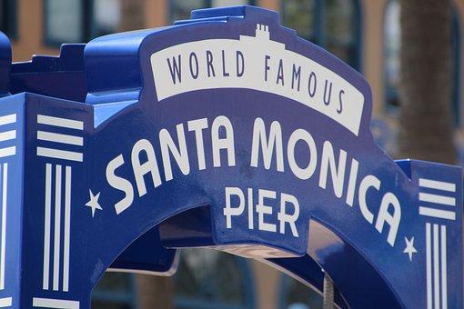 Santa Monica, Venice Beach, California, Beach, Holiday
