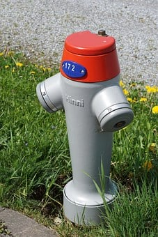 Hydrant, Water Pump, Cast Iron, Water Connection