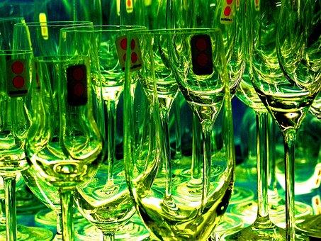 Glasses, Champagne Glasses, Champagne, Drink