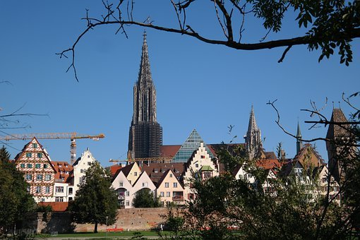 Ulm, City, City View, Historically, Historic Old Town