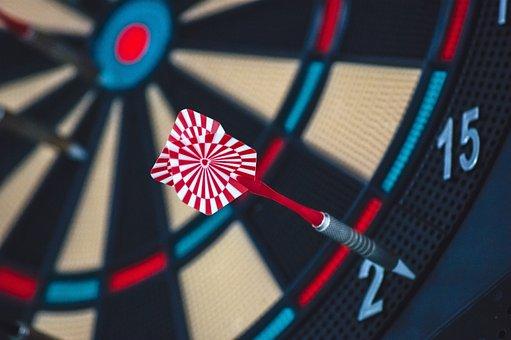 Dart Board, Game, Target, Competition, Dartboard, Aim
