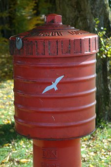Hydrant, Water, Metal, Red, Fire, Delete, Fire Delete