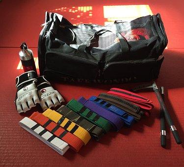 Sport, Equipment, Gym, Taekwondo, Martial Arts, Gear