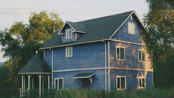 Home, Neighborhood, Village, House, Estate, Modern