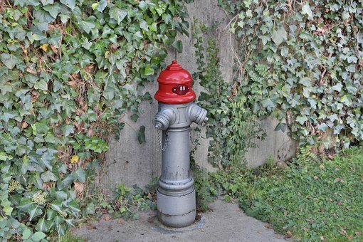 Hydrant, Red, Metal, Water, Fire, Fire Extinguishing