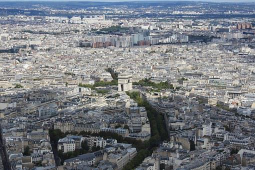 Paris, Panorama, The Capital Of France, France, City