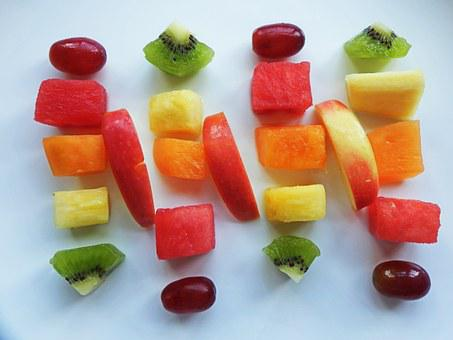 Fruit, Healthy, Apple, Grape, Watermelon, Cantaloupe