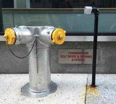 Fire, Hydrant, Hose, Water, Fire Hydrant, Braces Water