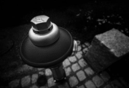 Water, Hydrant, Metal, Fire Delete, Water Utilities