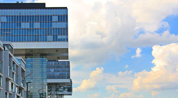 Crane Homes, Architecture, Cologne, Modern, Building