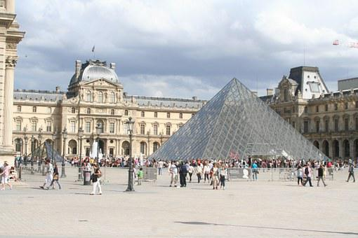 Louvre, Paris, Pyramid, Glass Pyramid, Museum, France