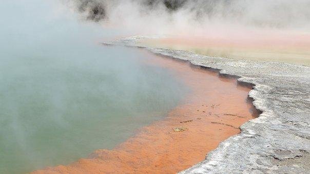 Wai O Tapu, New Zealand, Rotorua, Thermal Spring