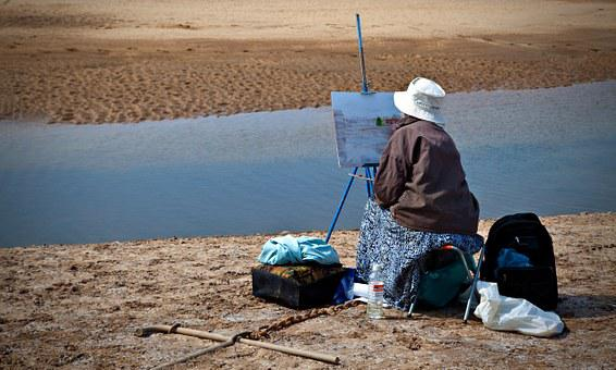 Artist, Painting, Painter, Canvas, Color, Artistic