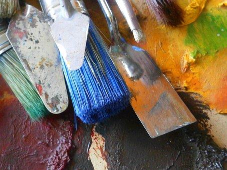 Painter, Brushes, Paintbrushes, Artistic Brushes