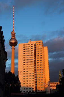 Alexanderplatz, Berlin, Tv Tower, Places Of Interest