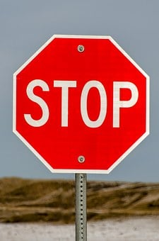 Stop Sign, Stop, Sign, Red, Traffic, Road, Warning