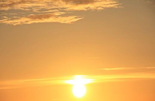 Sunrise, Sky, Morgenstimmung, Clouds, Nature, Skies