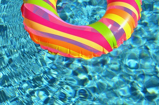 Swim Ring, Water, Swimming Pool, Ring, Float