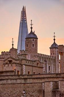 Tower Of London, The Shard, Sunset, Places Of Interest