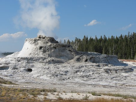 Thermal Features, Geysers, Hot Pool, Yellowstone