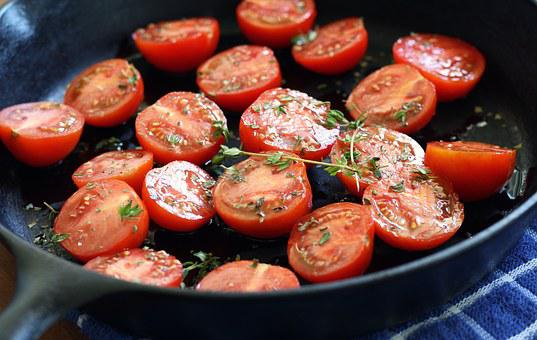 Tomatoes, Red, Fresh, Vegetable, Food, Tomato, Salad