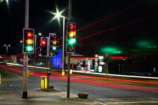 Traffic, Lights, City, Street, Traffic Light, Road