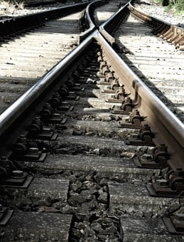 Rails, Track, Threshold, Train, Soft, Travel, Railway