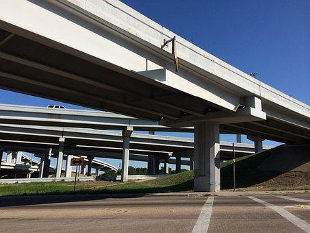 Highway, Underpass, Road, Transportation, Overpass