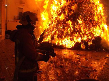 Fire, Danger, Flames, Water, Turn Out, Smoke