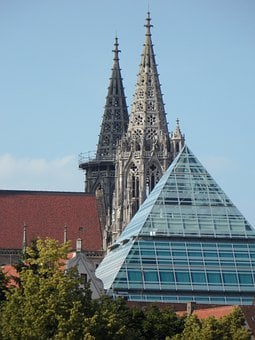 Münster, Church, Ulm Cathedral, Building, Architecture
