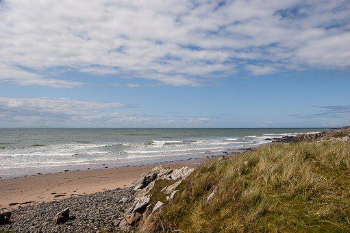 Beach, Scotland, Coast, Dumfries And Galloway, Scottish