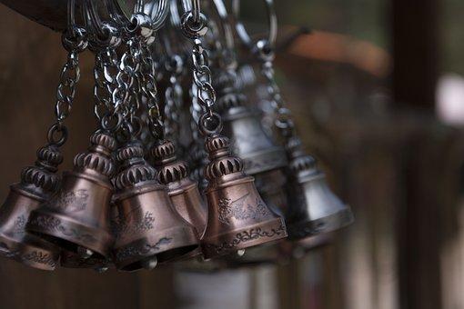 Sleigh Bell, Bell, Key Holder, Ornament, Metal