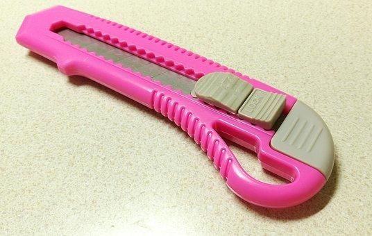 Cutter, Big Cutter, Blade, Pink