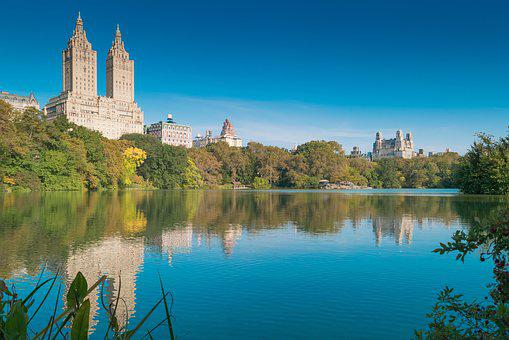 United States, Manhattan, Central Park, Building