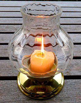Windlight, Candle, Light, Wax, Flame, Burning