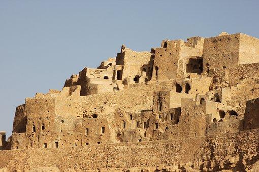 Tunisia, House, Cave, Ruin, Sahara, Desert