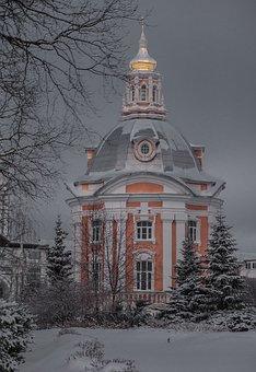 Monastery, Othodoxe, Religion, Sergei Posad, Russia