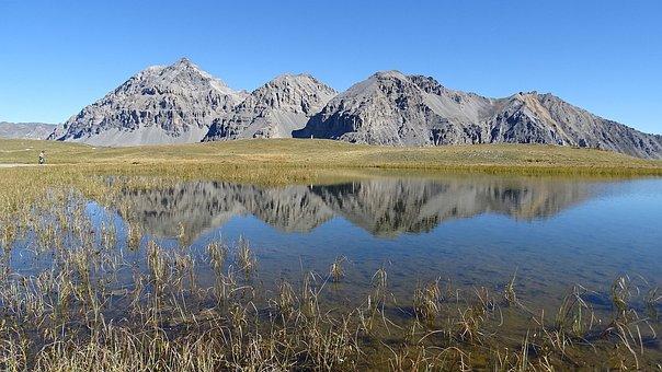 Bellety, Reflection, Lake, Mountain, Landscape