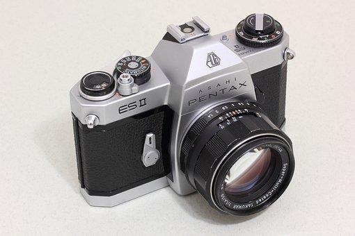 Asahi, Optical, Japan, Slr, 35mm, Film Camera, Takumar