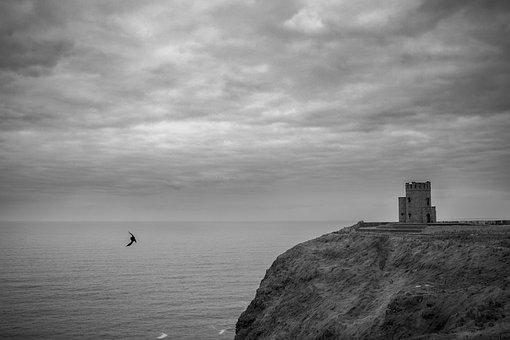 Ireland, Cliffs Of Moher Munster, Cliffs, Rock, Coast