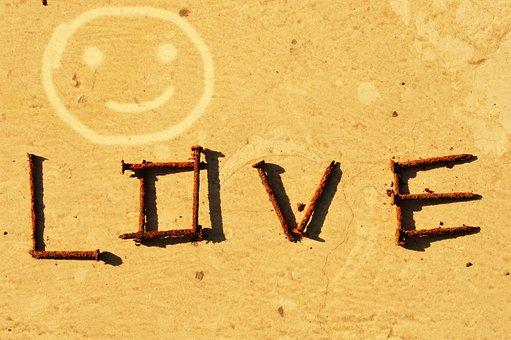 Pin, Rivet, Skewer, Smiley, Love, Dust