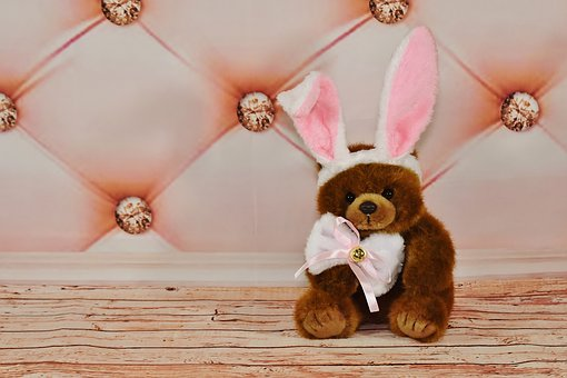 Easter, Easter Bunny, Teddy, Soft Toy, Funny