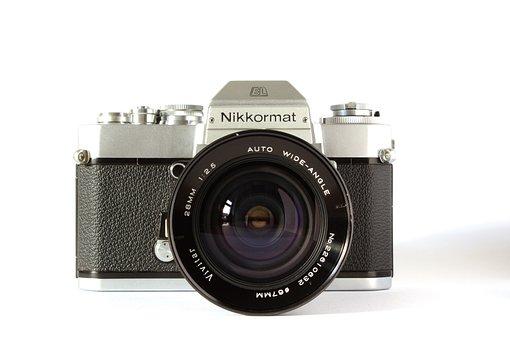 Nikon, Analog, Camera, Analog Camera, Old Camera